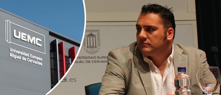 Victor Manuel Gañan Fernandez será profesor de Marketing en Internet en la Universidad Miguel de Cervantes de Valladolid