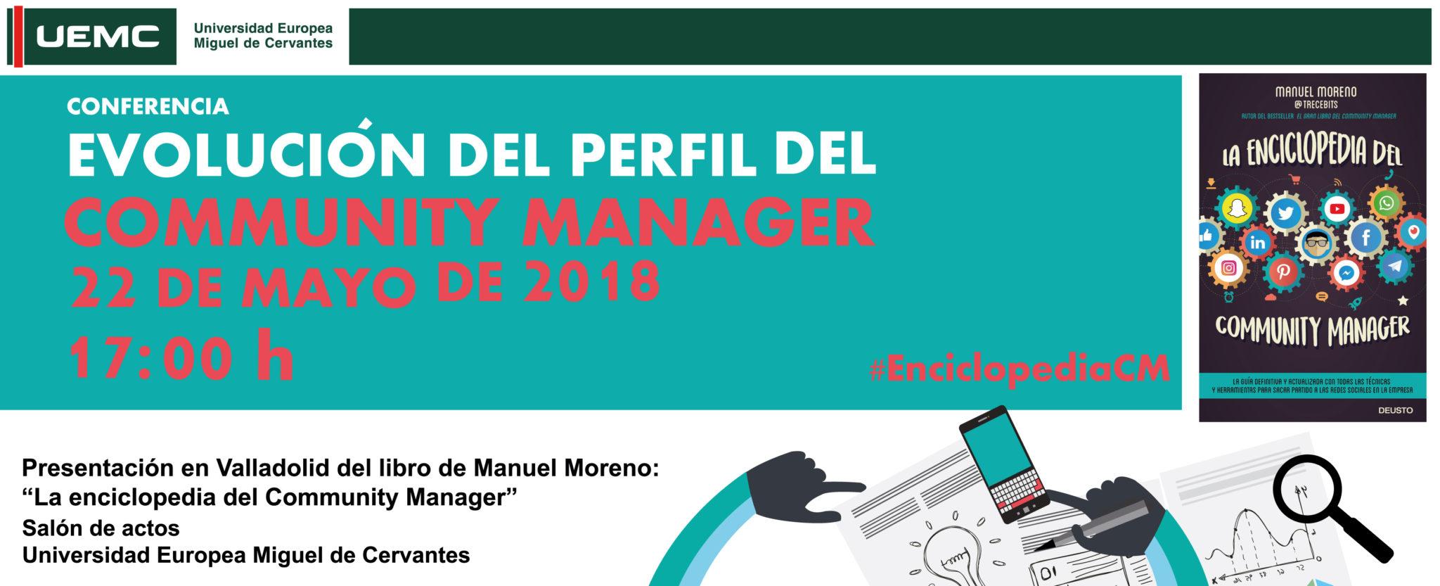La Universidad Europea Miguel de Cervantes acoge una conferencia sobre gestión de redes sociales y evolución del perfil del community manager