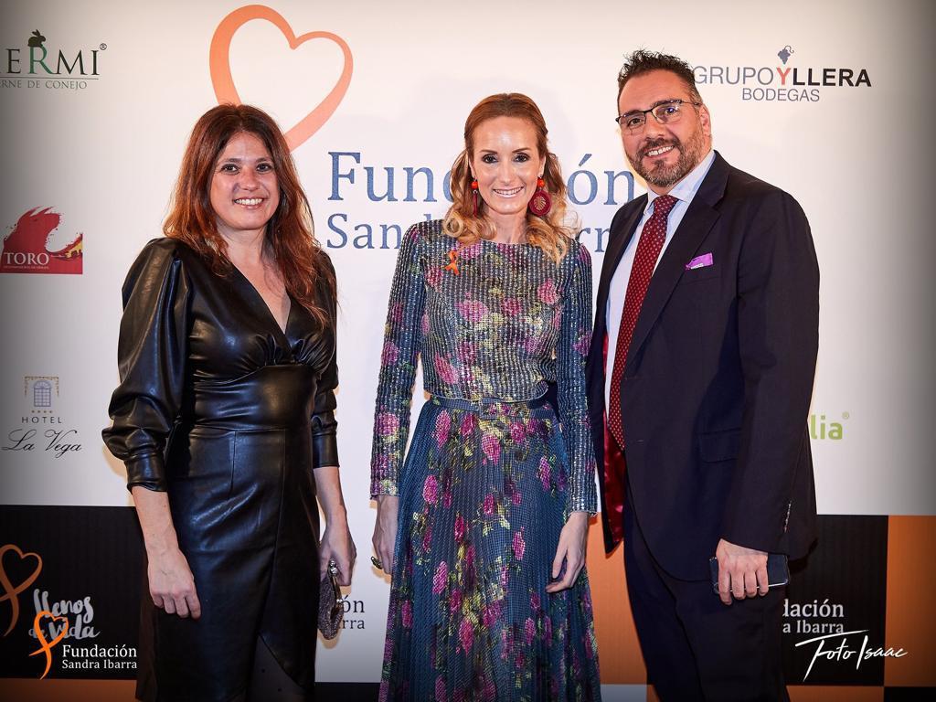 Cena solidaria Fundación Sandra Ibarra